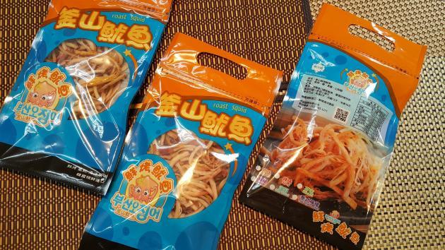 優惠12袋入 鮮烤魷魚90g/袋 1