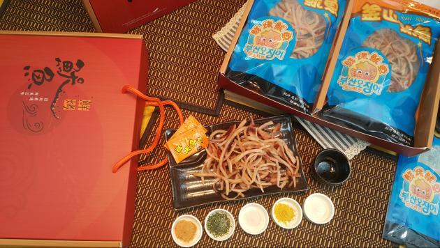 鮮烤魷魚禮盒300g 1