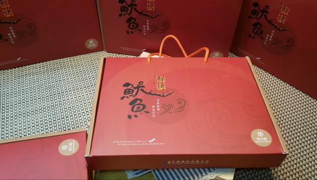 鮮烤魷魚禮盒300g 2